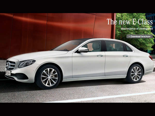 44f11c2e179bb7 Made-in-India Mercedes-Benz E-Class launched at Rs 56.15 lakh - The ...