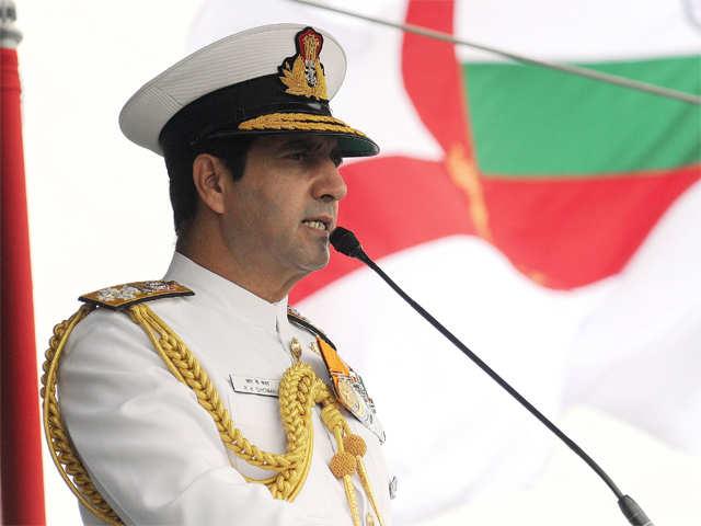 Admiral R K Dhowan reviews progress of under construction