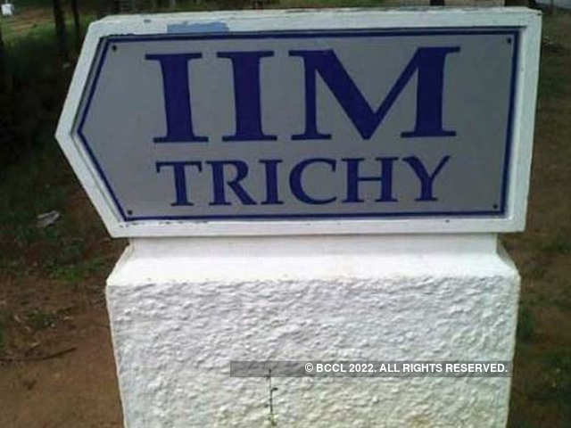 IIM Trichy: IIM Trichy completes final placements with