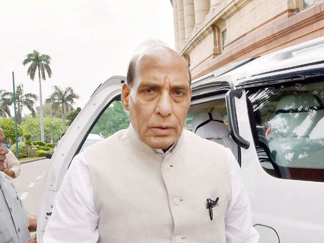 Union Home Minister Rajnath Singh Hints At Giving Training To 50
