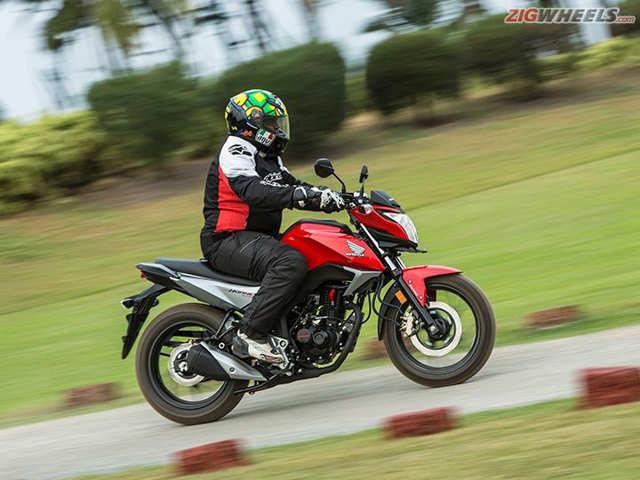 Honda Cb Hornet 160r First Ride Review The Economic Times
