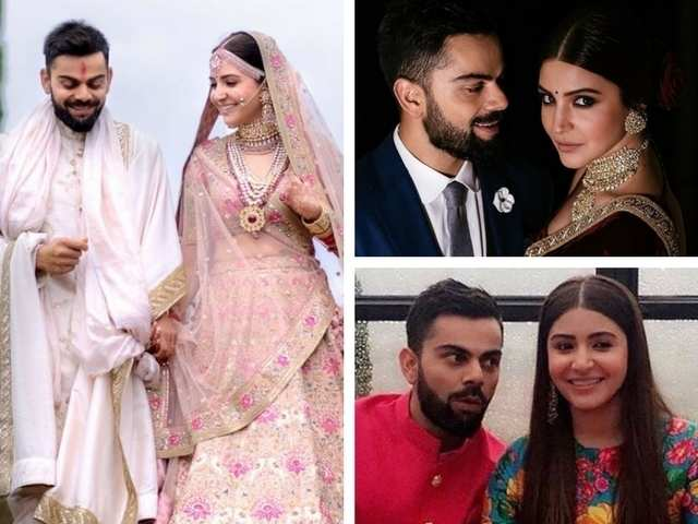 1245a4e835c6a More reasons to gush over Virat and Anushka s wedding  Here s every detail  of what they wore