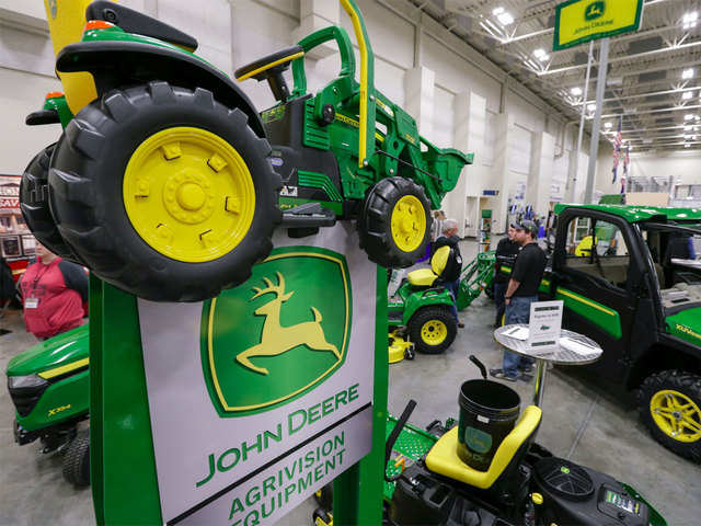John Deere S India Plant Helps Drive Exports To Us