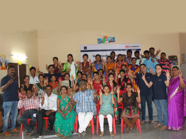 DB Schenker India's first CSR program for 2015 focuses on