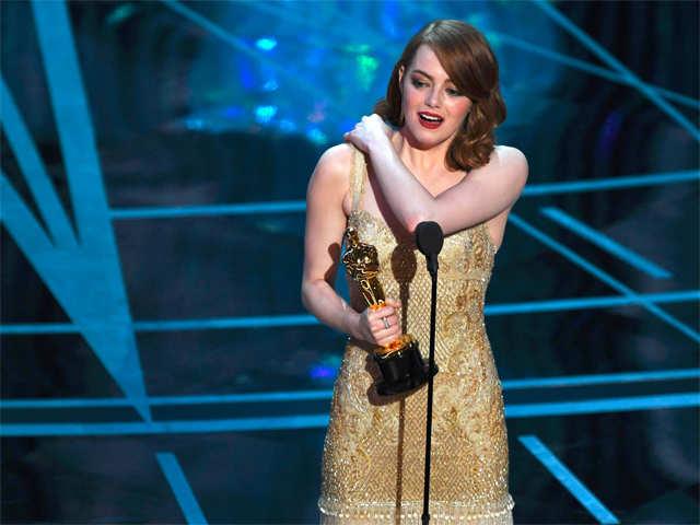 Emma Stone Oscar: Emma Stone wins Best Actress for 'La La Land'