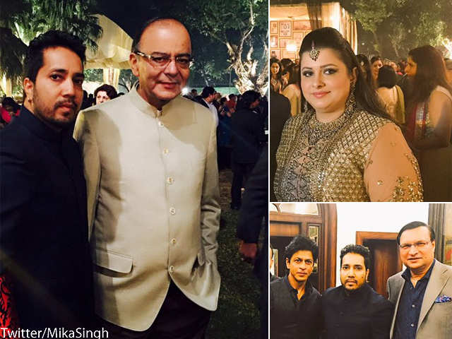 Political Leaders Celebrities Attend The Wedding Reception Of Arun