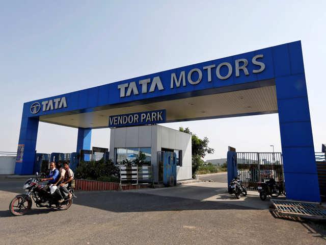 Tata Motors skids 6% after surprise Q1 loss