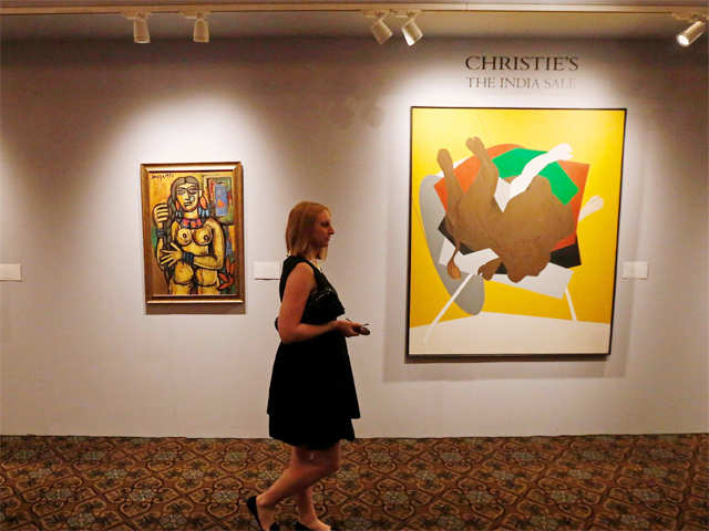 156cefaa126f Christie's India sale grosses Rs 75.27 crore, Tyeb Mehta's work nets Rs  17.54 crore