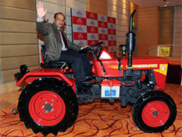 Mahindra Rolls Out Nations Smallest Cheapest Tractor Yuvraj 215