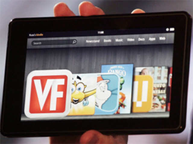 Amazon: Amazon launches Kindle Fire tablet computer, pitting against