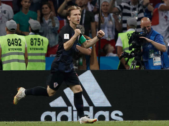 f4aa43bf81e Luka Modric is leading Croatia in battle after battle at the World ...