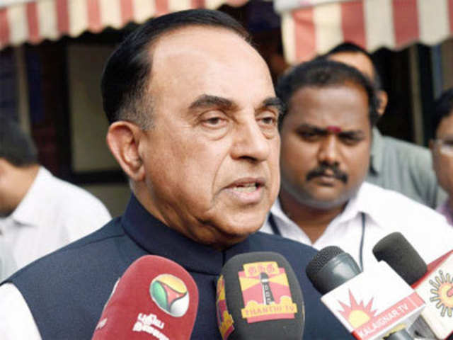 Subramanian Swamy wants MDMK out of NDA - The Economic Times