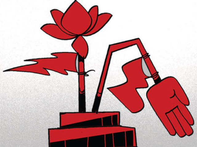 Bjp Replaces Congress As Common Enemy Of Rest The Economic Times