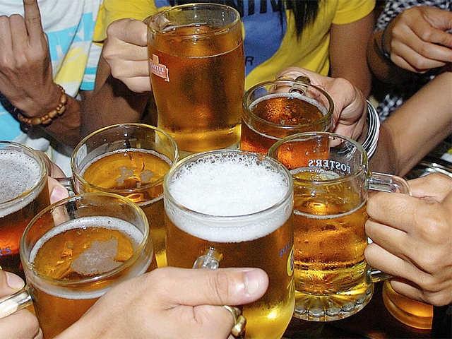 heavy beer sales in andhra