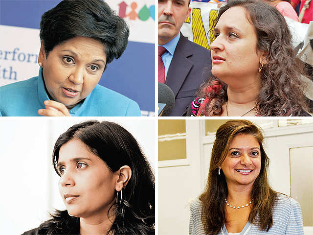 720ec660c7a An ET Magazine-MavenMagnet study on global women achievers of Indian origin  in business and the arts who are creating the biggest buzz online.
