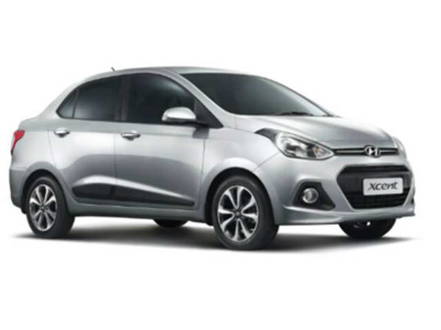 Hyundai Unveils Grand I10 Sedan The Xcent The Economic Times
