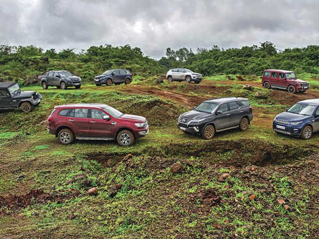 Autocar Off-road Day 2017: Top SUVs comparison