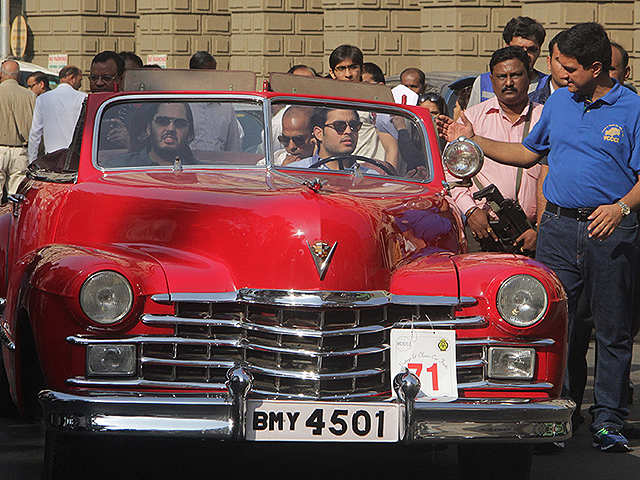 All About The Red Cadillac That Took The Ambani Boys For A Spin