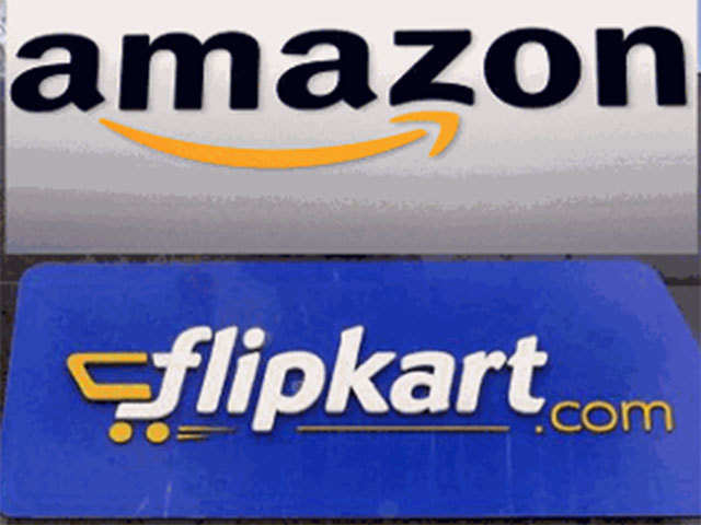 dc100f906017 Battle for top slot  Flipkart continues to nudge ahead of Amazon in terms  of gross sales