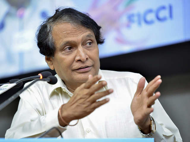 Suresh Prabhu seeks higher sops to push farm, services exports