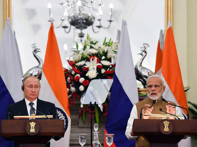 India Russia For Promoting Trade In Local Currencies The Economic