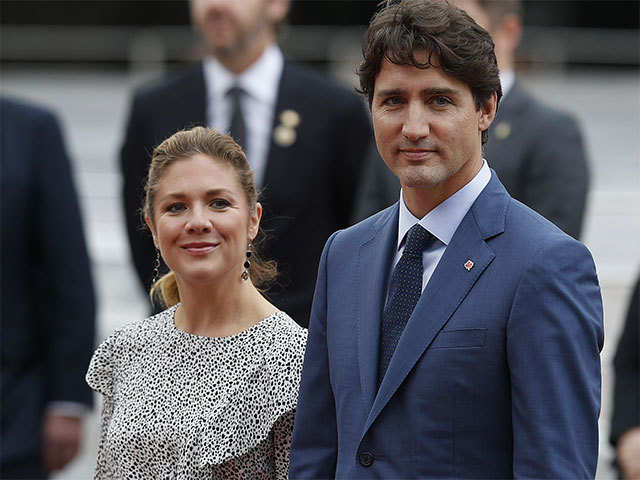 6f2be6cdb1815f Canadian first lady Sophie Grégoire Trudeau has her own engagements in India