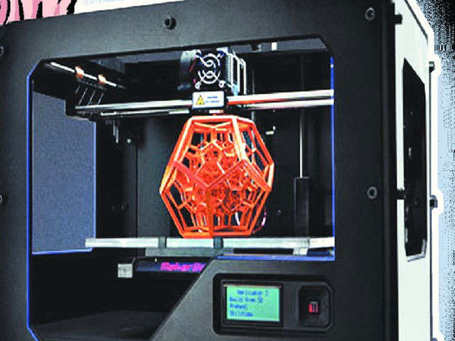 World's first compact rotary 3-D printer-cum-scanner developed