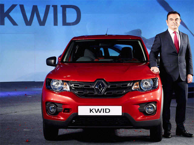 Renaults New Small Car Kwid Is Priced At About Rs 3 4 Lakh Owing To