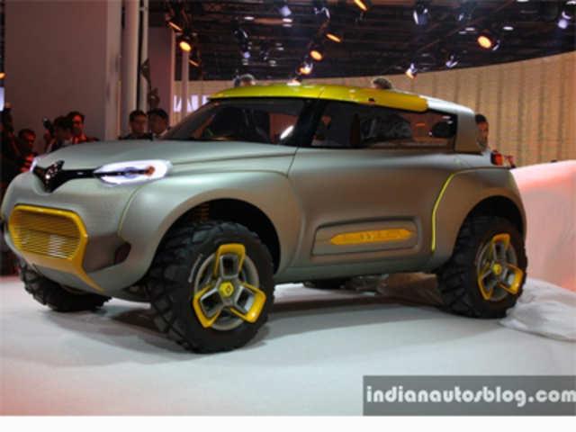 Auto Expo 2014 Renault Unveils Concept Car Kwid The Economic Times