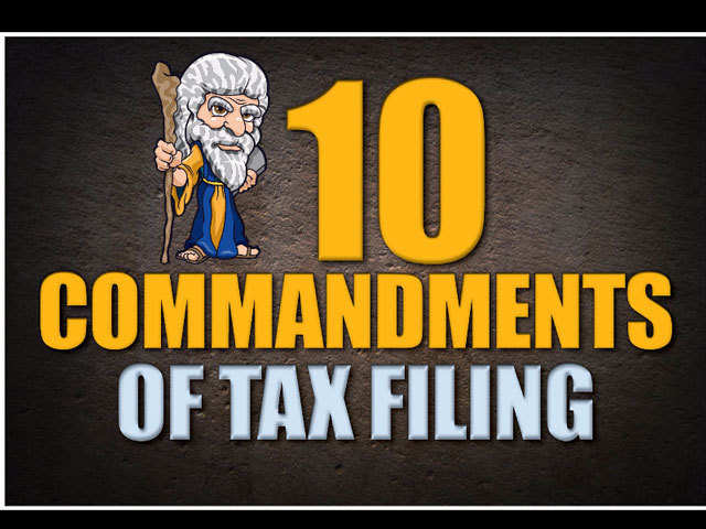 4832abefd00a85 Income Tax Return Filing  Ten rules you must follow while filing ...