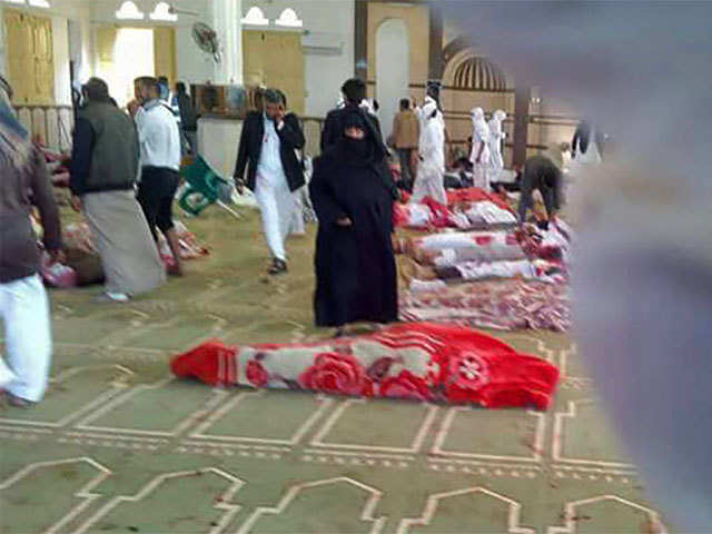 At Least Nobody Was Killed It Was No >> Egypt Blast At Least 235 Killed In Terror Attack On Egypt Mosque