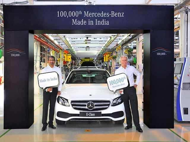 Spread Over 100 Acres The Plant Is A Part Of Mercedes Benz Global Production