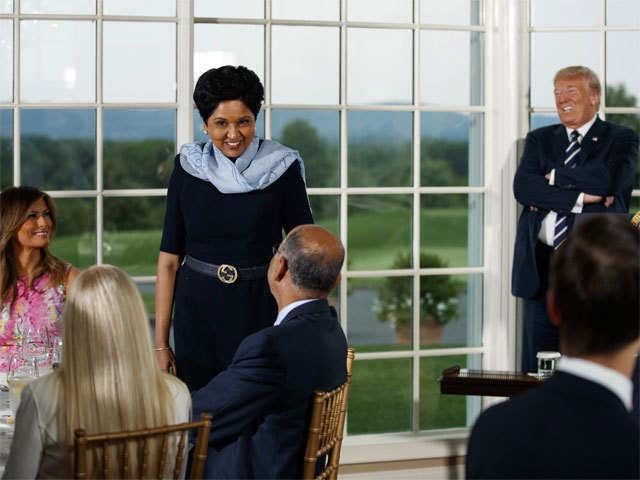 Donald Trump hosts Indra Nooyi 3b24ef88d8