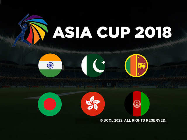75676969da7 Asia Cup 2018  Full list of players of the six participating nations ...