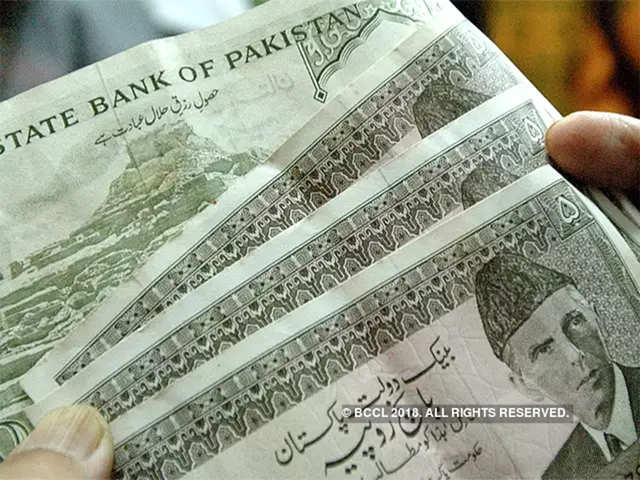 Pakistan Ruplunges In De Facto Devaluation As Imf Bailout Talks Loom