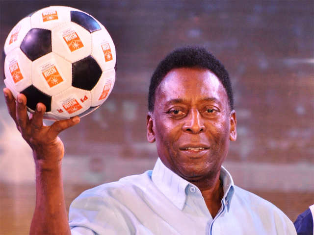 3609169abab48 5 times Pelé stunned soccer enthusiasts with his trademark flair, joy and  passion. Sometimes ...