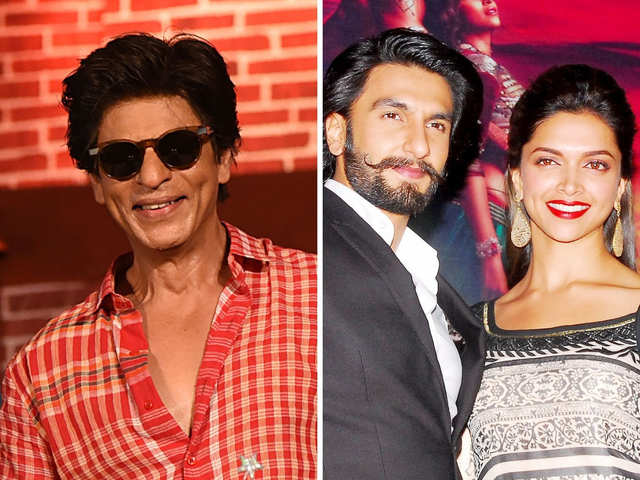002f6d7f84 Shah Rukh Khan wants Deepika-Ranveer to be happy