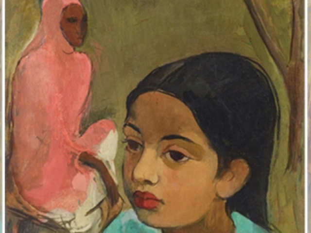 aaf07a862908 This Amrita Sher-Gil artwork will go under the hammer at Sotheby's  inaugural India sale