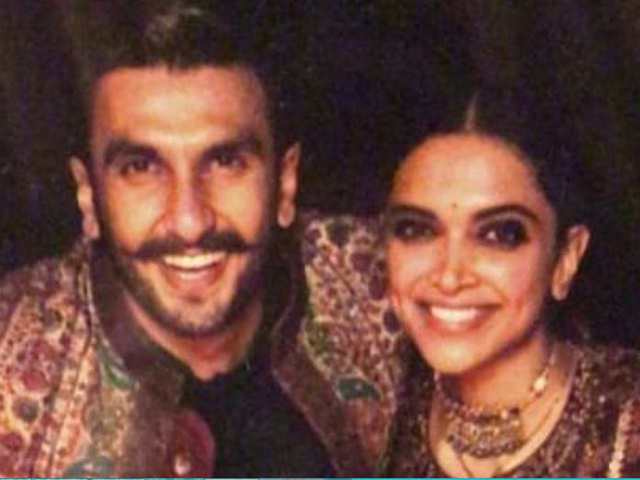 New Pictures Of Deepika Padukone And Ranveer Singh From Their Lake