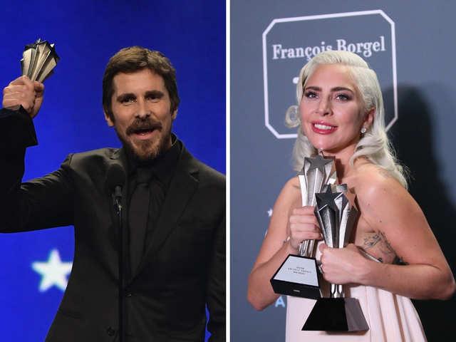 849ac35480c9 Lady Gaga  critics choice Complete winners list  Christian Bale ...