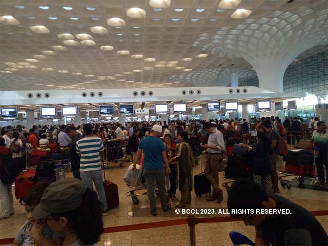 Local market near mumbai airport