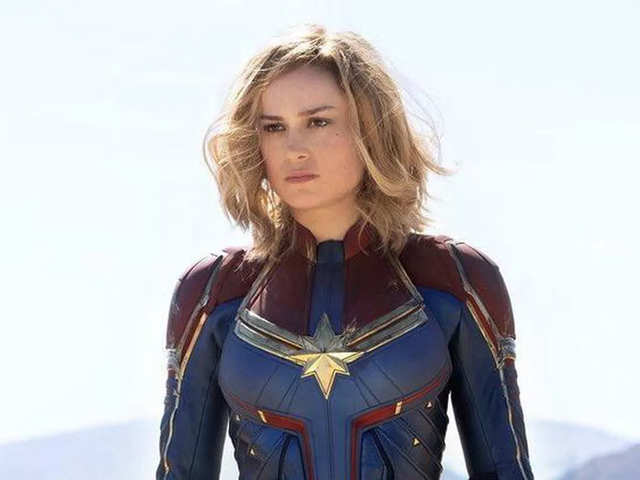 e9c727604f5 Brie Larson rewrites tradition as first female superhero from Marvel  Cinematic Universe
