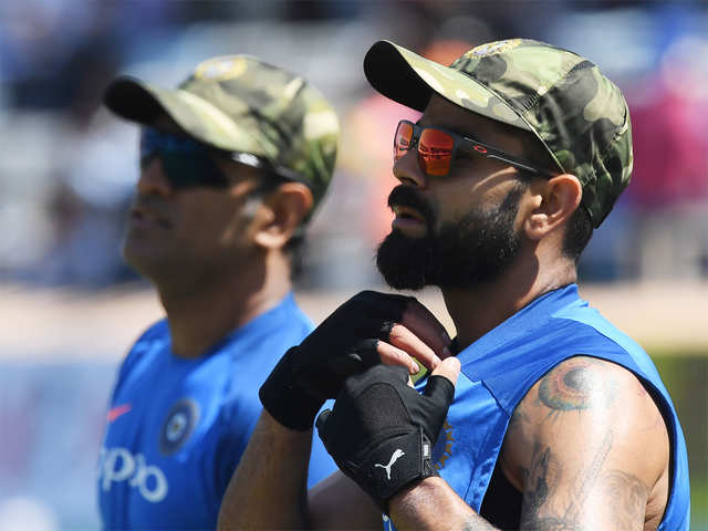 8d2fc1b37a4 Pakistan demands ICC action against Indian team for wearing military ...