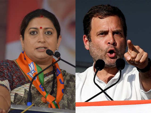 rahul gandhi will lose against me says smriti irani