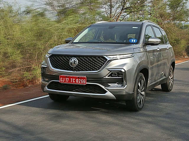 Hector Mg Unveils Its First Suv Hector In India For Rs 12 18 Lakh
