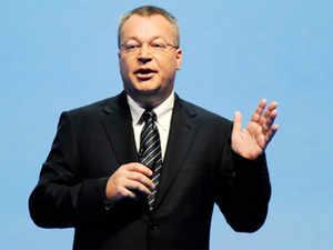 Stephen A Elop, CEO, Nokia