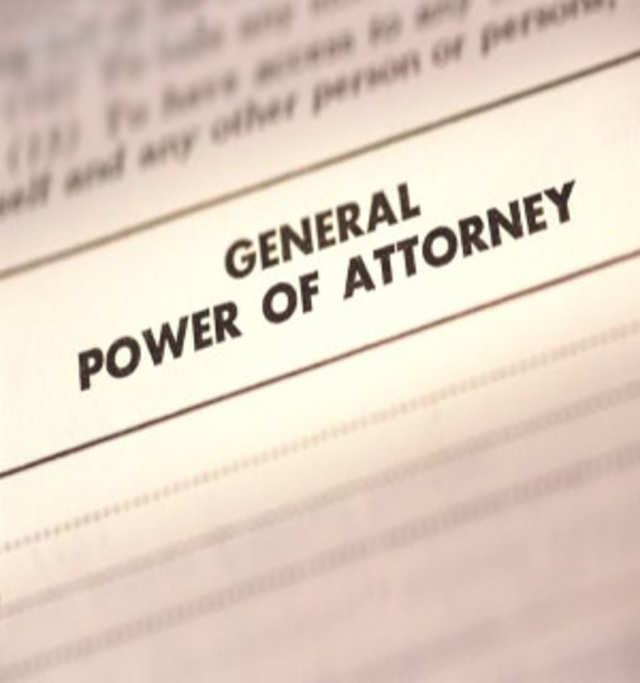 Power Of Attorney Letter Of Authority Points Of Distinction