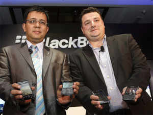 RIM launches three BlackBerry 7 smartphones in India