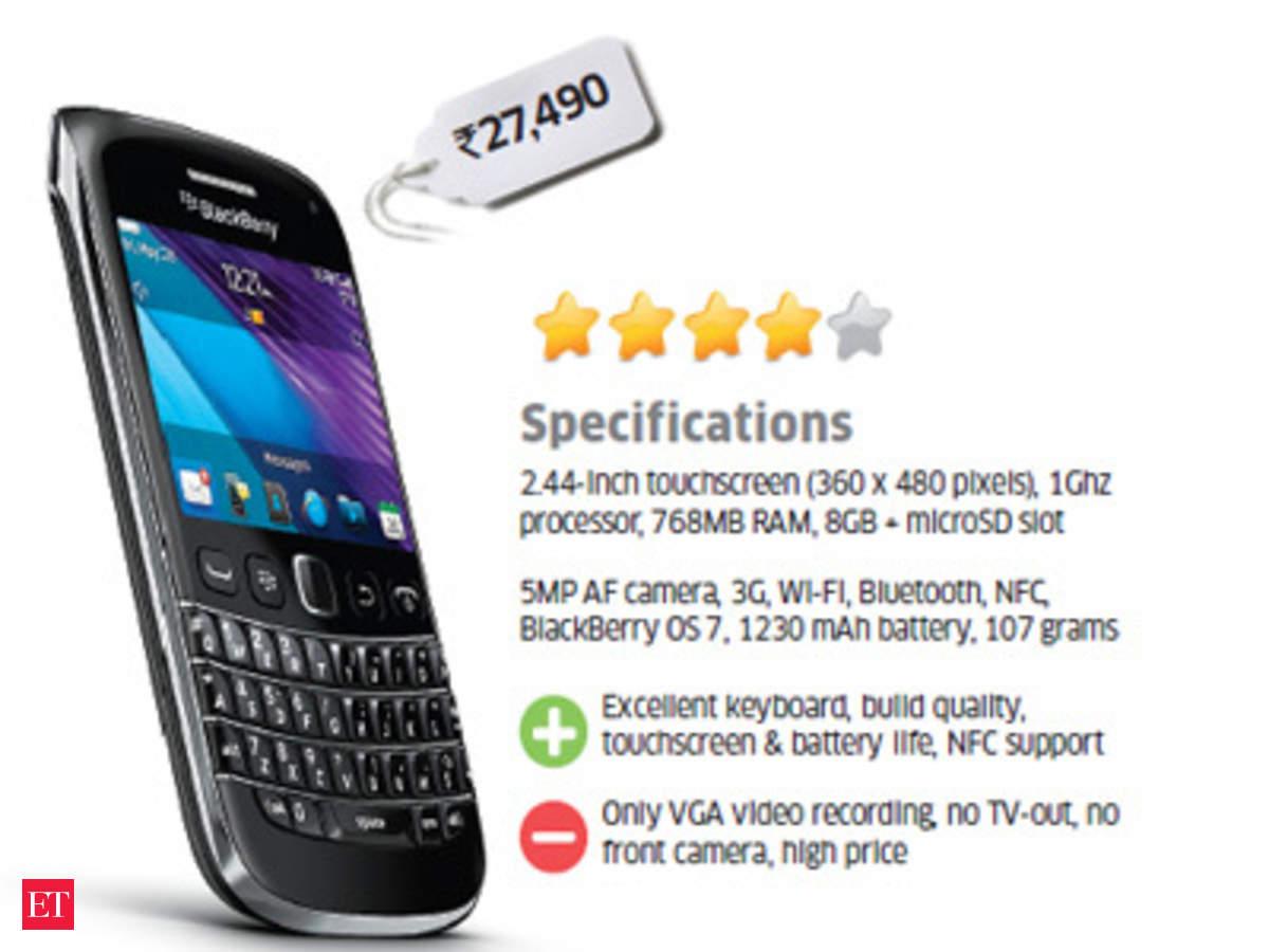 ET Review: BlackBerry Bold 9790 - The Economic Times