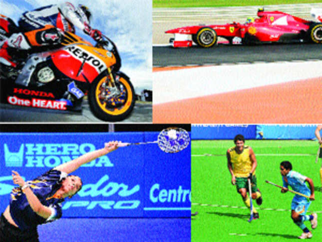Brands vying for a piece of action makes sports like MotoGP, F1 a cost-effective option